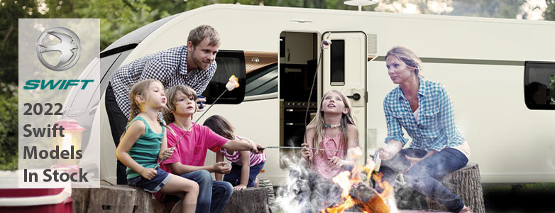 New Swift touring caravans in stock at Duncans